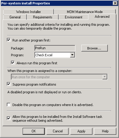 Allow the user to postpone installation in SCCM – CCMEXEC