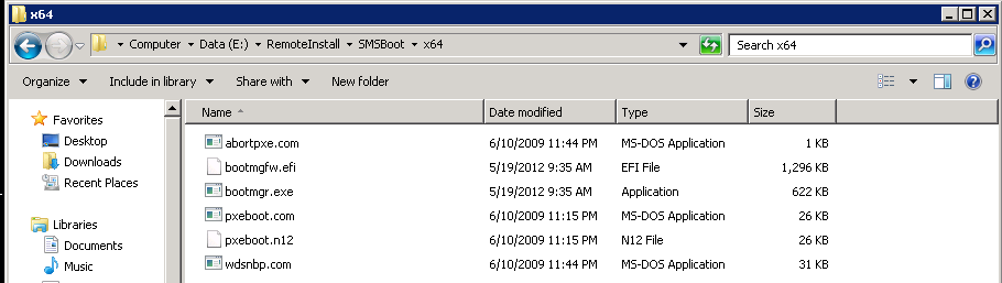 ConfigMgr 2012, UEFI and PXE Boot Support – CCMEXEC COM