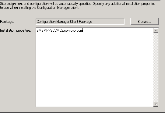 Setup Windows and configMgr