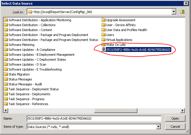Importing reports in ConfigMgr 2012 R2 / Reporting Services