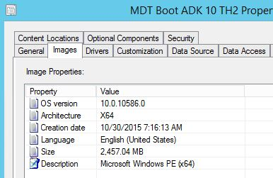 Windows 10 ADK 10 0 10586 solves the Powershell/ Net bug in WinPE