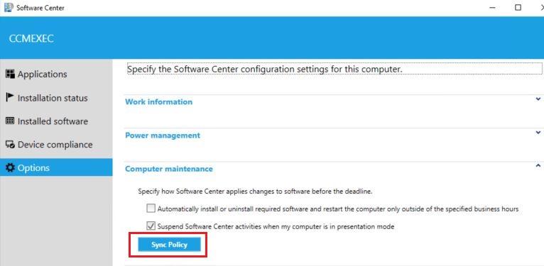 SoftwareCenter
