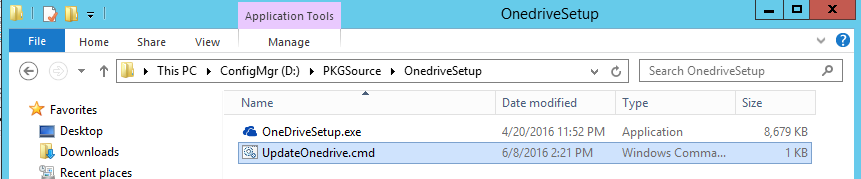 Updating the builtin Onedrive client in Windows 10 1511 during OS
