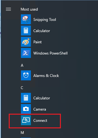 Removing/blocking the Connect app in Windows 10 1607