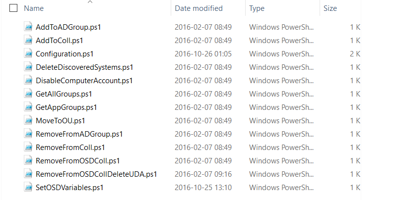 Powershell Sample scripts