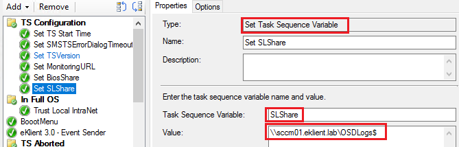 Copy and Zip OSD log files in a Task Sequence using Powershell