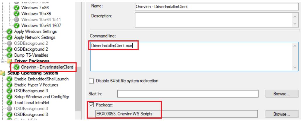 SCCM Dynamic Driver management using Onevinn SCCM Extensions