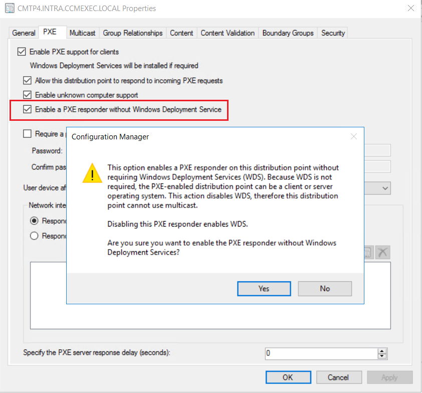 New features in Configuration Manager Technical Preview 1803