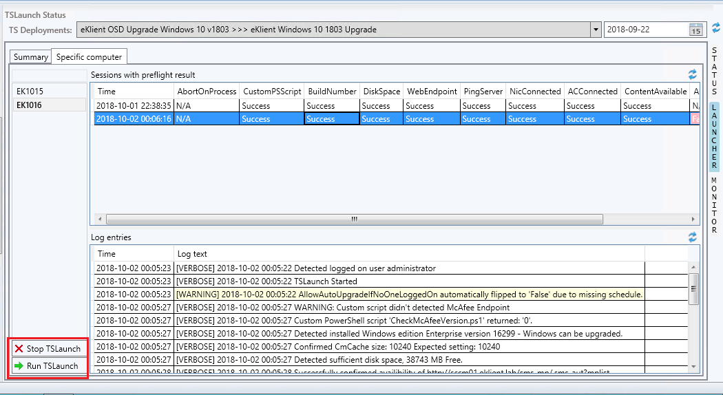 Windows 10 upgrade assessment using Onevinn TSLaunch – CCMEXEC COM